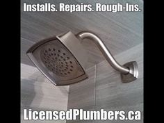Mississauga Shower Faucet Leak Repair experts at http://LicensedPlumbers.CA. Licensed plumbers serving Mississauga for all make and model repairs to shower faucets and bathtub shower faucets. Shower faucet repairs to Moen, American Standard, Delta, Kohler, products and high end shower faucet repairs. #MississaugaShowerFaucetRepair