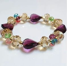 Cute Jewelry, Jewelry Crafts, Beaded Jewelry, Jewelry Accessories, Jewelry Design, Silver Jewellery, Handmade Bracelets, Bangle Bracelets, Handmade Jewelry