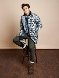Ji Chang Wook  _Lonsdale_ brand endorser   2016.07