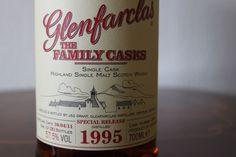 Glenfarclas 1995 family casks esp bottled for the NL . mmmm.