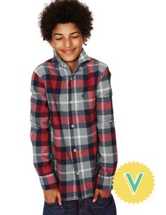 Smarten up with our range of boys' shirts at Boden. Whether it's brushed check, cord or an Oxford shirt – dressing up is fun with our smarter styles. Wesley School, Boden Clothing, Cute Boy Outfits, Letter V, Smart Styles, Back To School Outfits, Mini Boden, Boys Shirts, Cute Boys