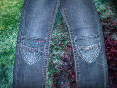 Hosen flicken aus Taschen
