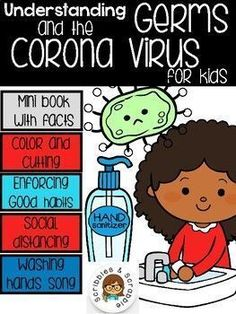 Jul 7, 2020 - This gives parents the opportunity to explain our situation as a community to our young kids.This product includes:Explaining germsHow do germs spread?How can we stay healthy?The Corona Virus in shortSocial distancingMake a list! What to do while social distancing?Wash your hands songThinking about ... Science Resources, Reading Resources, School Resources, Activities, Teacher Resources, Decoding Strategies, School Themes, Second Grade, Phonics
