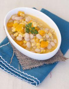 Porotos Granados con Mazamorra. – Espacio Culinario