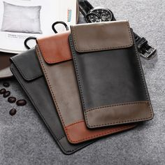 Universal Multifunction Leather Cover Case For iPhone 6 5S 4S Phone Bag Pouch With Card Slots For Samsung Galaxy S5/S4/S3 mini - free shipping worldwide
