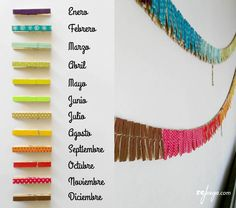 colores para la cadena anual montessori Más Color Montessori, Montessori Preschool, Montessori Education, Waldorf Education, Montessori Materials, Preschool Activities, Diy And Crafts, Crafts For Kids, Class Decoration