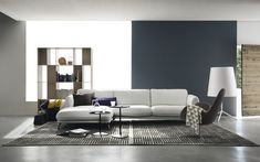 TAYLOR modular sofa, visible feet - Calligaris CS/3367