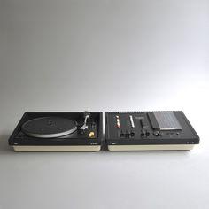 Braun regie 308 / PS 358 - Dieter Rams / Dieter Rams + Robert Oberheim - 1973 / 1973