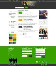 cool FindJob-Responsive Job Portal  CreativeWork247 - Fonts, Graphics, Them...