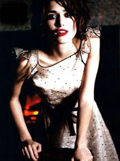 Keira Knightley for Vogue Italia January 2011 by Ellen von Unwerth