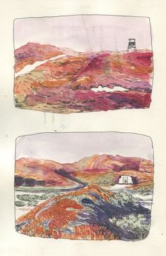 karlottafreier: colour studies for an upcoming comic project http://ift.tt/2uSF95l