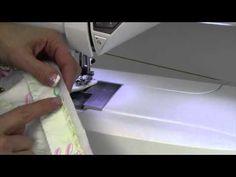 * Sara demonstrates here favorite technique for machine sewn bindings. Blog: http://www.heirloomcreations.net/?p=34839 Web: http://www.heirloomcreations.net Fa...