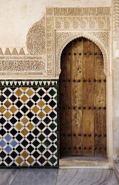 Doorway At The Alhambra Palace, Granada, Spain - Photography by Josh Caudwell - www.joshcaudwell.com
