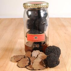 Summer Black French Truffles - Brushed First Choice - 7 oz, Kosher for sale online Truffle Butter, Truffle Oil, Black Truffle, Truffle Recipe, Gourmet Food Store, Gourmet Gifts, Gourmet Recipes, Gourmet Foods, Foie Gras