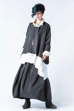 Kyoto Skirt in Grey Stonewash Tokyo | KALIYANA.COM Eclectic Style, Kyoto, Gypsy, Tokyo, Comfy, Skirts, Dresses, Fashion, Vestidos