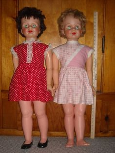 3Ft dolls from 1960's