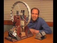 Motore magnetico generatore eolico fai da te Antonio Salerno inventore - YouTube