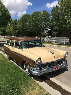 1956 FORD COUNTRY SEDAN STATION WAGON..Re-pin brought to you by agents of #Carinsurance at #HouseofInsurance in Eugene, Oregon