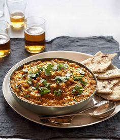 Australian Gourmet Traveller recipe for tarka dal by Indian Tukka restaurant in Melbourne.