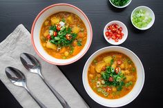 Comforting Chickpea and Lentil Soup