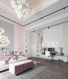 Room Design Bedroom, Bedroom Furniture Design, Girl Bedroom Designs, Room Ideas Bedroom, Home Room Design, Home Decor Bedroom, Modern Luxury Bedroom, Modern Bedroom Design, Luxurious Bedrooms