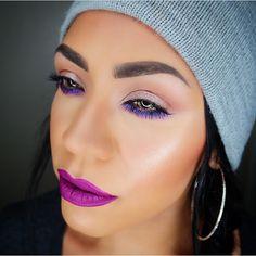 @daniexpertmua created a mesmerizing indigo on her lower lash line using our Jumbo Eye Pencil in 'Cobalt' || #nyxcosmetics #regram