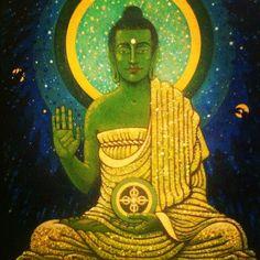 Amogasiddhi Buddha by Aloka