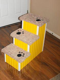 24 inch high 3 tier pet step for sale by HamptonBayPetSteps, $119.00