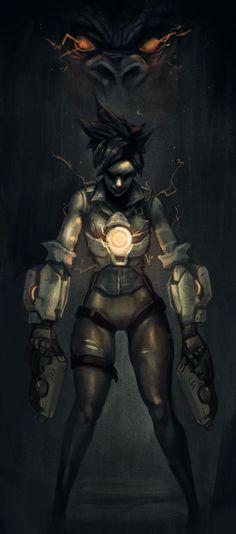 I drew Overwatch heroes inspired by Dark Souls - Album on Imgur