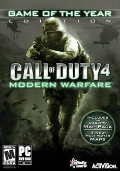 cool New Pc Games | Call of Duty 4: Modern Warfare Game of the Year Edition - PC