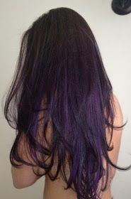 Sexy Purple Highlights!