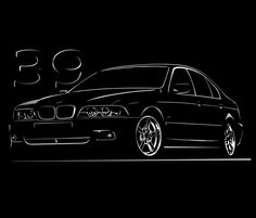 BMW E39 T Shirt Classic 520 525 528 535 M5 5-Series S - 5XL + Langarm + Touring
