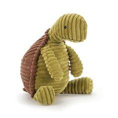 Sød skildpaddebamse fra Jellycat serien Cordy Roy.Bamsen måler 36 cm og er blød og behagelig at putte med for barnet, når der skal soves og trøstes.Jellycat