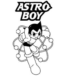 Top Free Astro Boy Coloring Pages For Kids From ForKids Selected