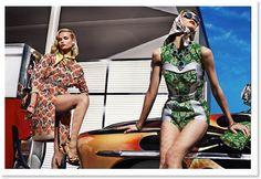 Inspiração 50's & 60's - Prada Spring/Summer 2012