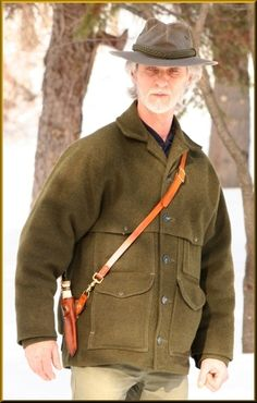 Baldric Rig Adapter By John D. McCann  I always wanted to make a Baldric Rig Adapter, so in the winter, I didnt have to dig under my Filson Coat to get to my belt knife.  I wanted to design something I could slip into the belt loop of any of the leather sheaths I make for my knives, and then hang it from a leather Shoulder strap