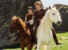 William Moseley, Philip Steuer, and Skandar Keynes in The Chronicles of Narnia: The Lion, the Witch and the Wardrobe Peter Pevensie, Edmund Pevensie, Narnia Movies, Narnia 3, Edmund Narnia, Narnia Cast, Narnia Costumes, Saga, William Moseley