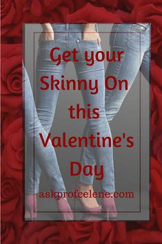 Rocking that Little Black Dress is easy this Valentine's Day with my Skinny Yourself Programme!!