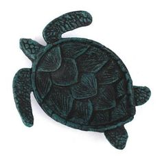 Handcrafted Nautical Decor Sea Turtle Decorative Bowl Finish: