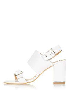 NATALIA Double Buckle Sandals