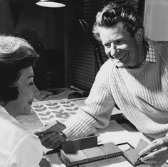 Robin and Lucienne Day, the ultimate, artistic, power couple.