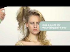 {Video} #HairHowTo: Weightless Volume 3 Ways #PureAbundance