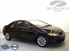2009 Honda Civic Cpe EX  All the right ingredients! Spotless One-Owner! If you want an amazing deal on an amazing car that wi... [Read More]  Selling Price: $14,983  VIN: 2HGFG12849H520694  Stock #: VT9H520694  Miles: 79,200  Transmission: Automatic  Exterior Color: Black  www.mcdonaldvolvousedcars.com/littleton-co-used-volvo