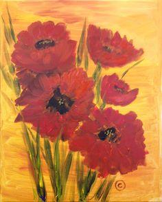 """Van Gogh Vino """"Red Flowers"""""""
