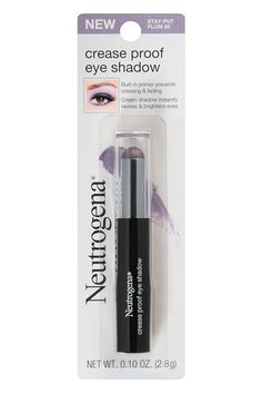 A built-in, oil-absorbing primer on this genius shadow stick makes sure that the pigment stays on your lids and doesn't creep up into the creases for that unintentional half-moon effect. Our only gripe? There are only six shades. We want a full range of high-impact hues with this formula, please!Neutrogena Crease Proof Eyeshadow, $8.99, available at Ulta.