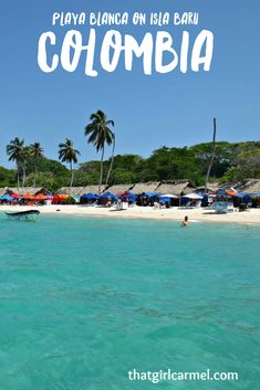 A day trip from Cartagena to Playa Blanca - Rosario Islands - Colombia