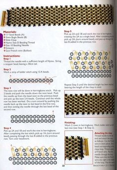 Браслет из бисера и стекляруса в технике ндебеле | biser.info - всё о бисере и бисерном творчестве