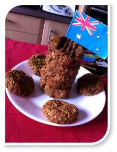 A #recipe for #glutenfree and #sugarfree 'Anzac' Biccis for Thermomix