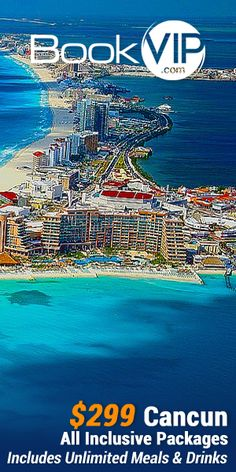 Attention Beach Lovers! Now get 5 nights in Cabo San Lucas Mexico with unlimited Meals and Drinks including alcohol for only $299 per couple and kids stay FREE! Click here!