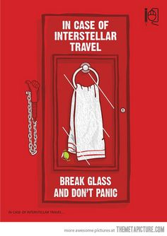 In case of interstellar travel…